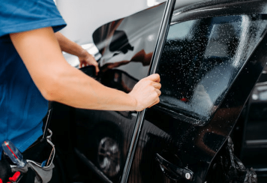 Repairing Cracks Or Chips In Tinted Car Windows