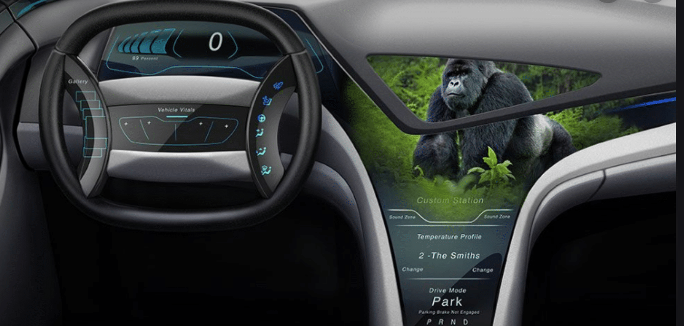 Gorilla Glass Is The Future For Windshields