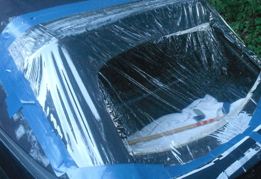 How To Cover A Broken Car Window